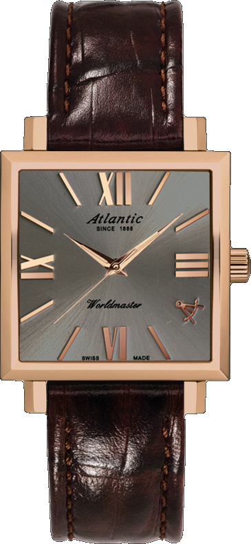 Atlantic Worldmaster 14350.44.48 atlantic часы atlantic 52756 41 63 коллекция worldmaster