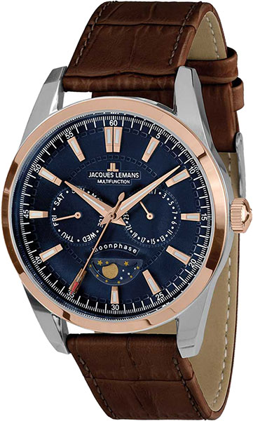 Jacques Lemans Liverpool Moonphase 1-1901D jacques lemans liverpool 1 1836e