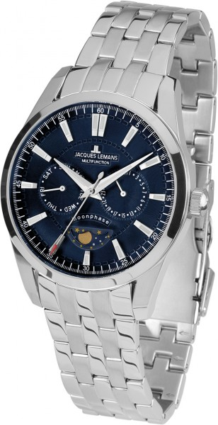 Jacques Lemans Liverpool Moonphase 1-1901F jacques lemans liverpool 1 1863b