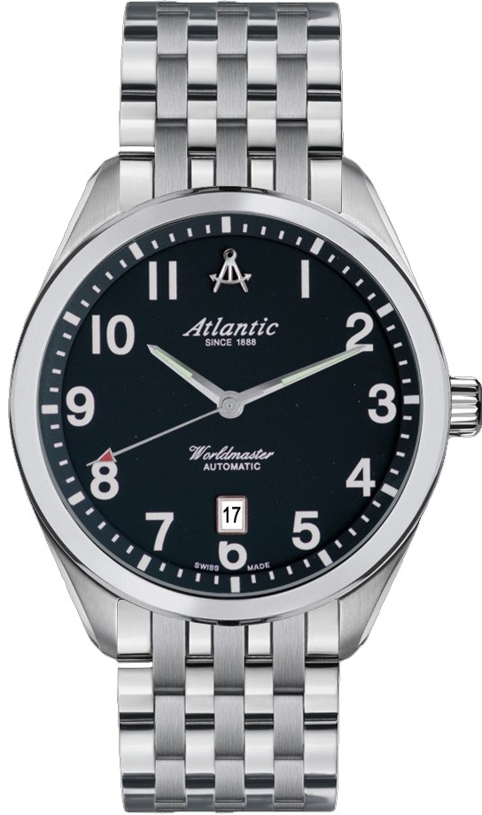 Atlantic Worldmaster 53755.41.65 atlantic часы atlantic 52756 41 63 коллекция worldmaster