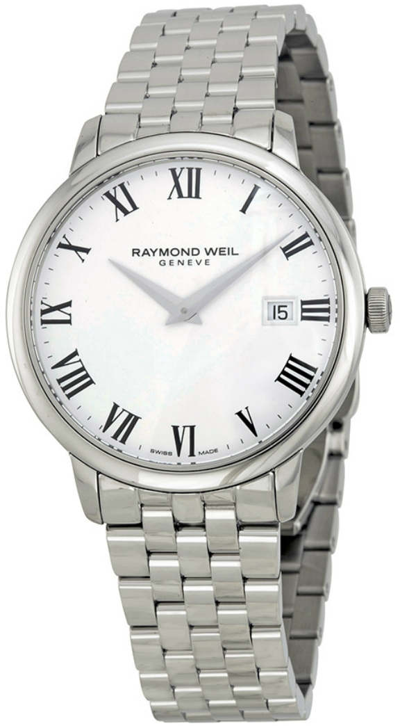 Raymond Weil Toccata 5488-ST-00300 free shipping newest g6129 white falcon jazz guitar with bigbys high quality free shipping