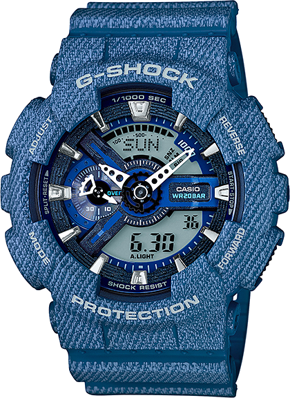 Casio G-shock GA-110DC-2A casio g shock ga 110tp 7a