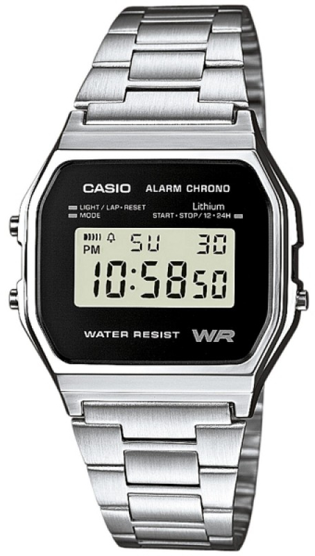 Casio A-158WEA-1E часы casio collection a 158wea 1e grey