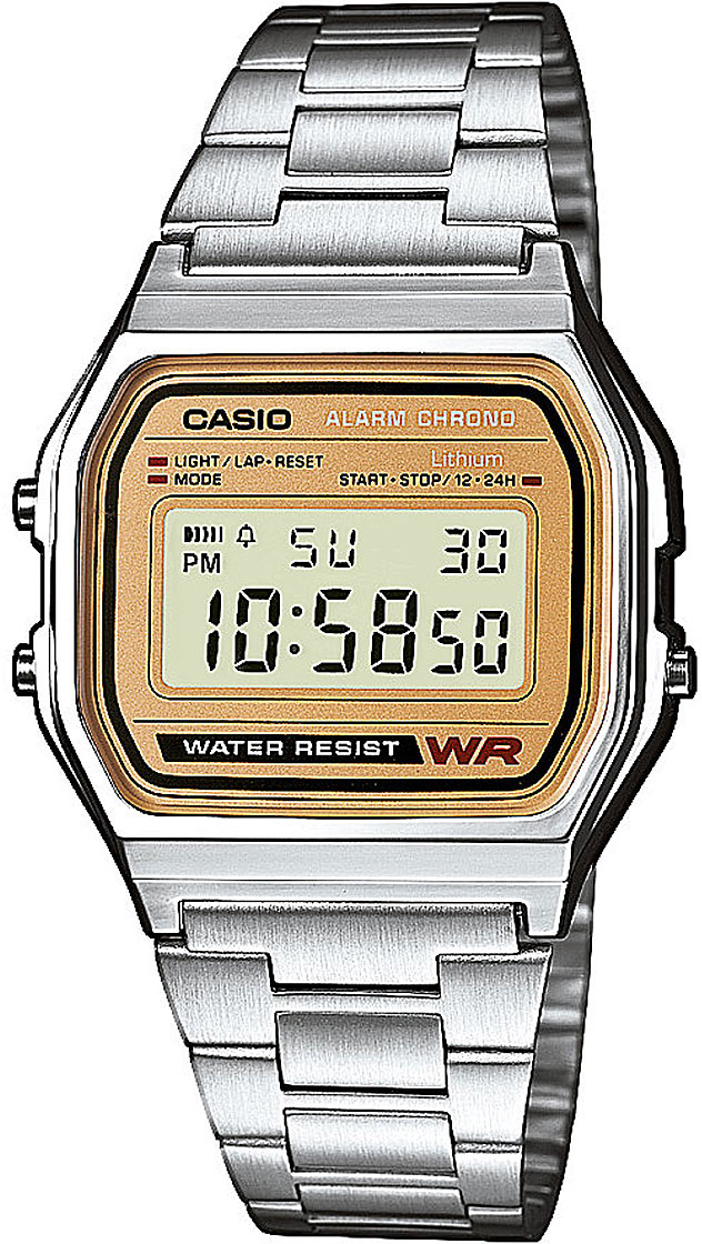 Casio A-158WEA-9E часы casio collection a 158wea 1e grey
