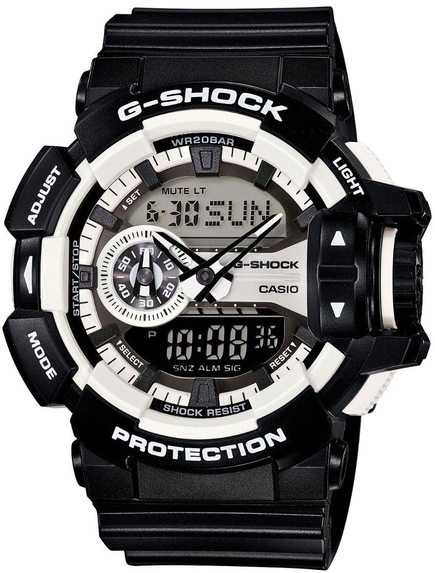 Casio G-shock G-Specials GA-400-1A часы casio g shock ga 110mb 1a black