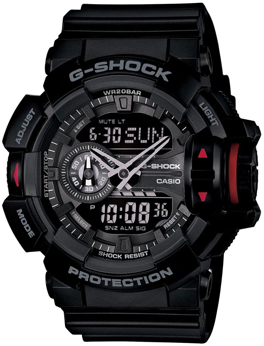 Casio G-shock G-Specials GA-400-1B casio g shock g classic ga 400 7a