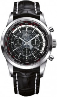 Breitling Transocean Chronograph Unitime AB0510U4/BE84/760P