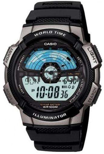 Casio AE-1100W-1A часы casio collection ae 1000w 1a black