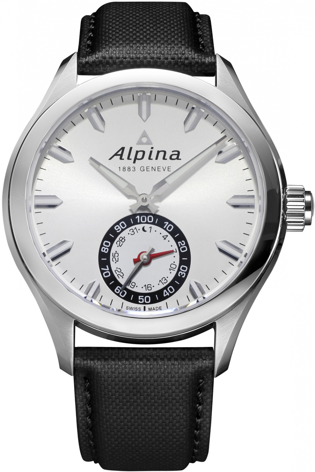Alpina Horological Smartwatch AL-285S5AQ6 alpina al 525n4e6