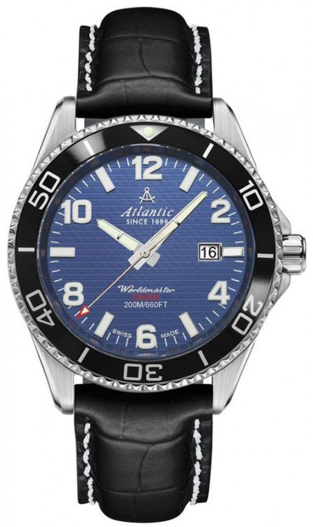 Atlantic Worldmaster 55370.47.55S atlantic часы atlantic 52756 41 63 коллекция worldmaster