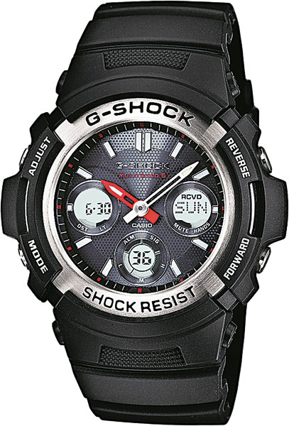 все цены на Casio G-shock AWG-M100-1A в интернете