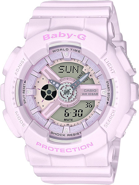 Casio Baby-G BA-110-4A2 окрашивание бровей absolute new york perfect fill brow powder 04 цвет 04 wheat variant hex name a4713c