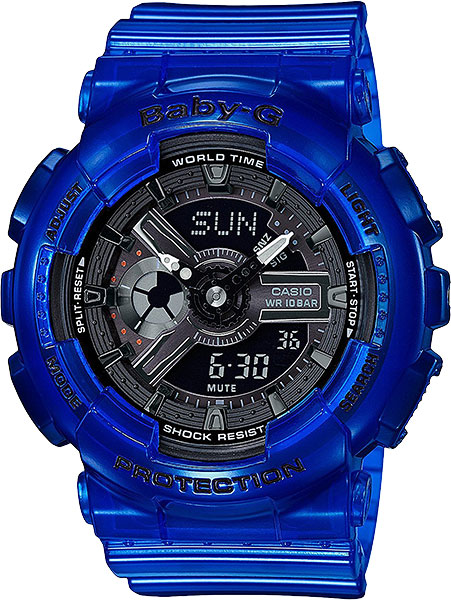 Casio Baby-G BA-110CR-2A casio часы casio ba 110nc 2a коллекция baby g
