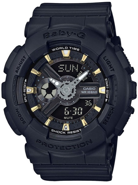 Casio Baby-G BA-110GA-1A часы детские casio g shock baby g ba 120lp 1a black