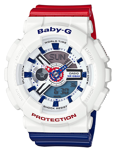 Casio Baby-G BA-110TR-7A часы женские casio g shock baby g ba 120 7b white