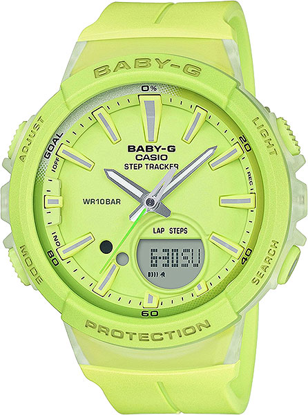 Casio Baby-G BGS-100-9A электронные часы casio collection mcw 200h 9a