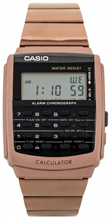Casio Data Bank CA-506C-5A часы casio ltp e118g 5a