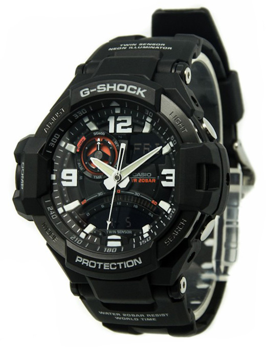 где купить Casio G-shock GA-1000-1A дешево