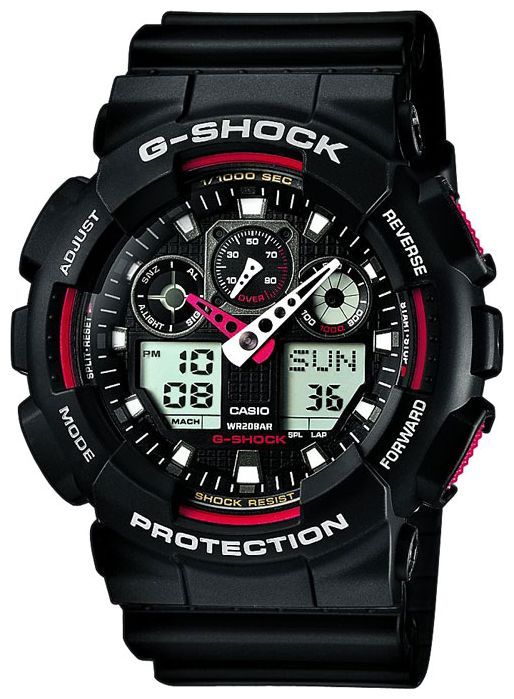 Casio G-shock G-Classic GA-100-1A4 casio ga 100mc 1a4