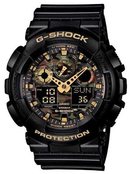 Casio G-shock GA-100CF-1A9 часы casio ga 100cf 1a