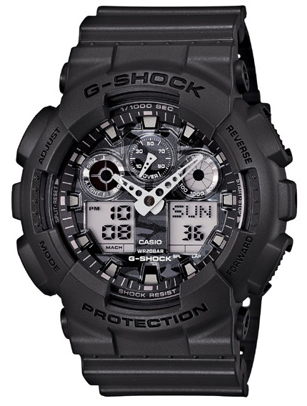 Casio G-shock GA-100CF-8A casio g shock ga 100cf 1a9
