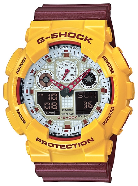 Casio G-shock G-Specials GA-100CS-9A casio g shock g classic ga 110mb 1a