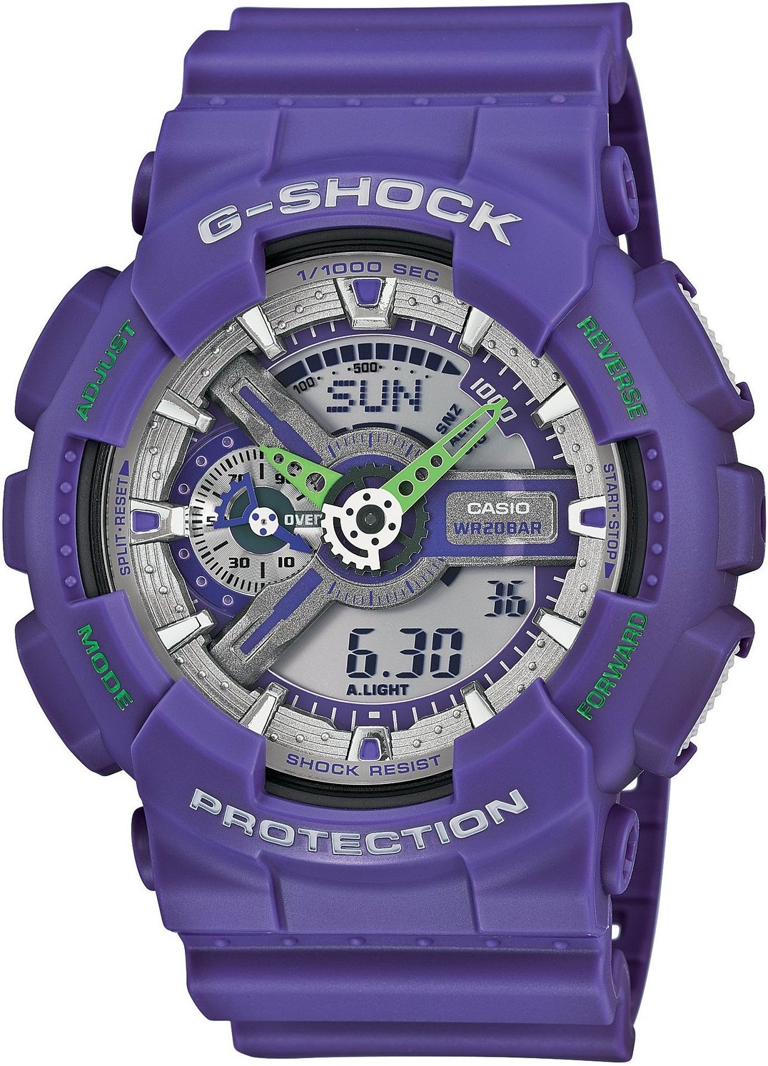 Casio G-shock G-Classic GA-110DN-6A casio часы casio gma s110mc 6a коллекция g shock