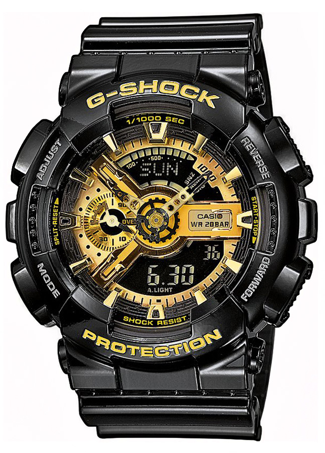 Casio G-shock GA-110GB-1A часы наручные casio часы g shock ga 150 1a