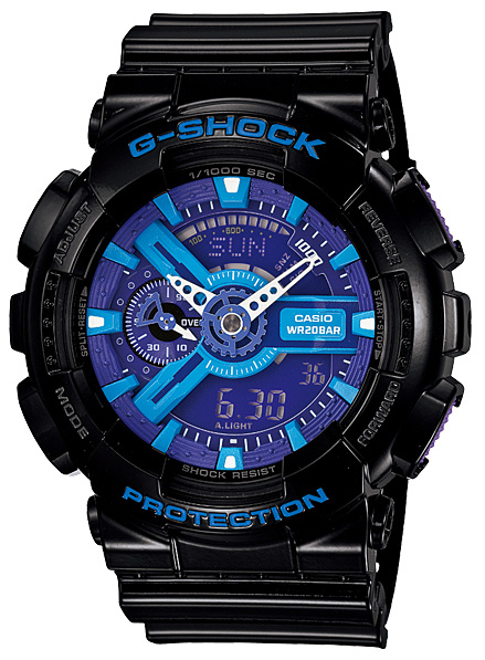 Casio G-shock GA-110HC-1A casio g shock ga 150 1a