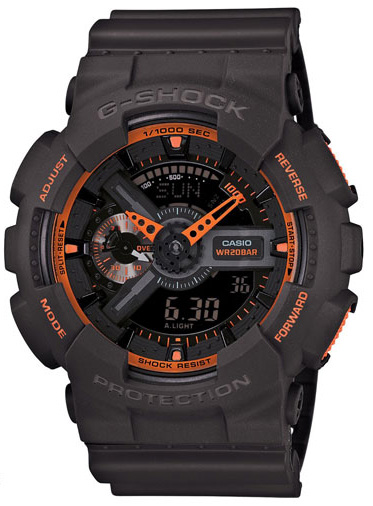 Casio G-shock GA-110TS-1A4 casio ga 100mc 1a4