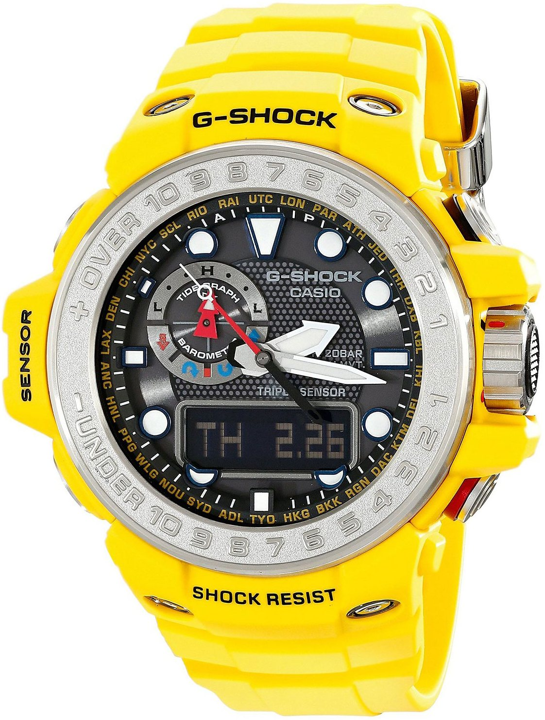 Casio G-shock G-Premium GWN-1000-9A casio g shock gulfmaster tough mvt multi band 6 gwn 1000e 8ajf men s japan model