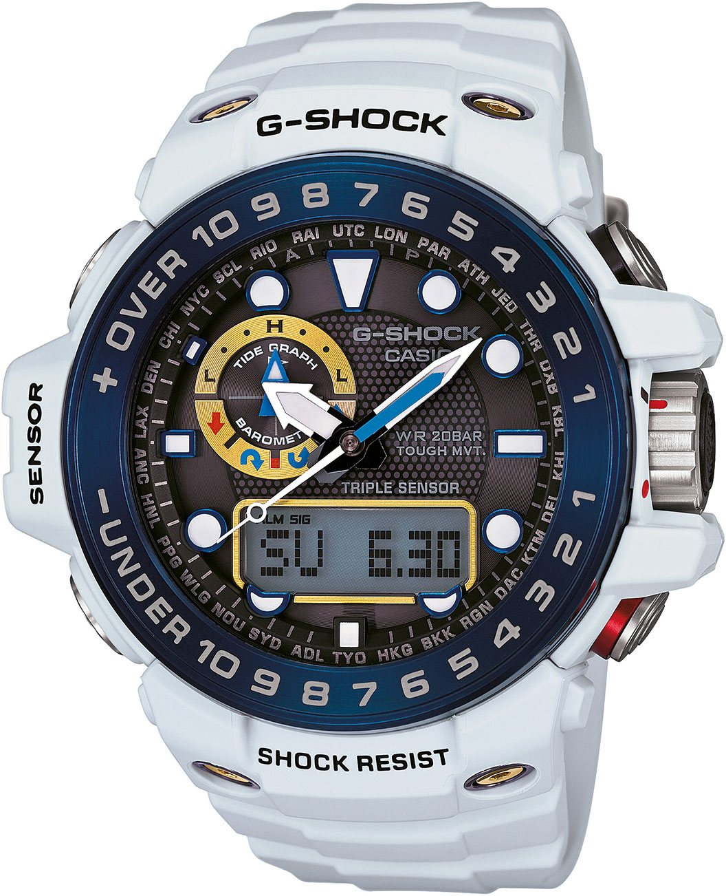 Casio G-shock G-Premium GWN-1000E-8A casio g shock gulfmaster tough mvt multi band 6 gwn 1000e 8ajf men s japan model
