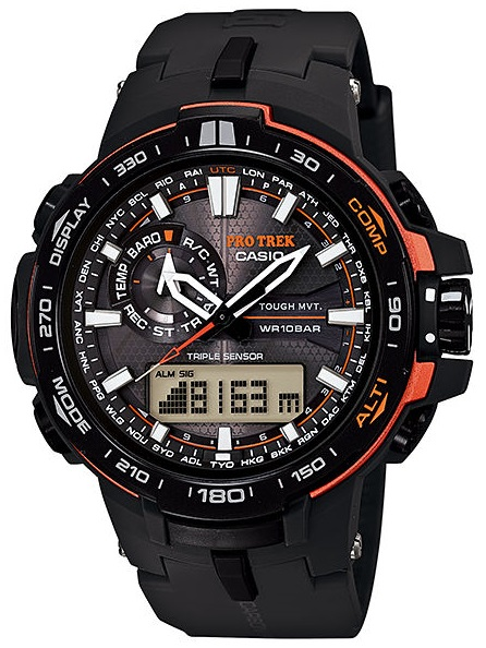 Casio Pro Trek PRW-6000Y-1E casio watches solar outdoor climbing table prw 6100fc 1p prw 6100y 1a prw 6100y 1b prw 6100yt 1b prw 6100y 1p men s watches