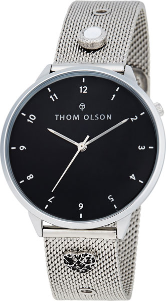 Американские часы Thom Olson Night Dream Silver Moon CBTO001 Наручные часы фото