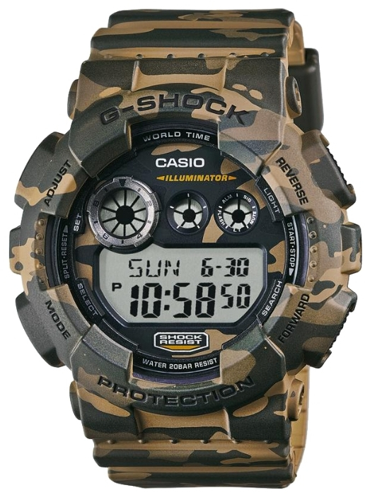 Casio G-shock GD-120CM-5E casio gd 400 4