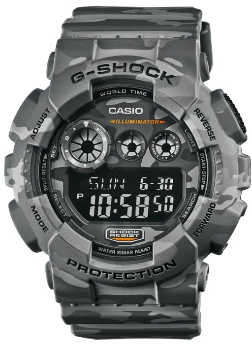 Casio G-shock GD-120CM-8E casio gd 400 4