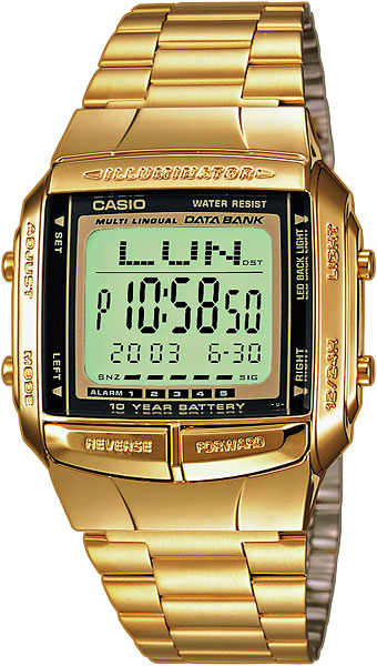 Casio DB-360GN-9A электронные часы casio collection mcw 200h 9a