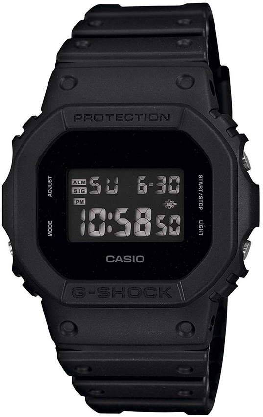 Casio G-shock G-Specials DW-5600BB-1E casio часы casio dw 5600m 3e коллекция g shock