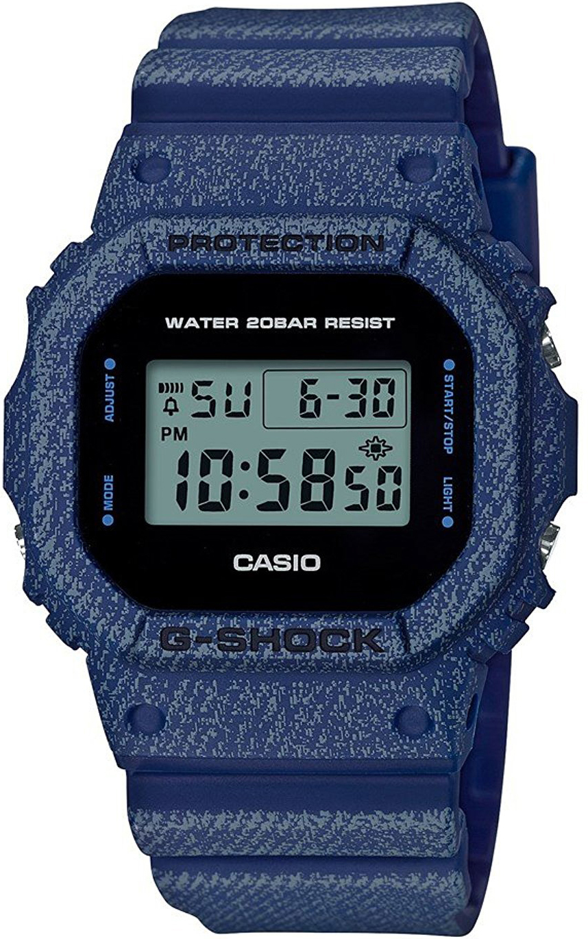 Casio G-shock DW-5600DE-2E casio часы casio dw 5600m 3e коллекция g shock