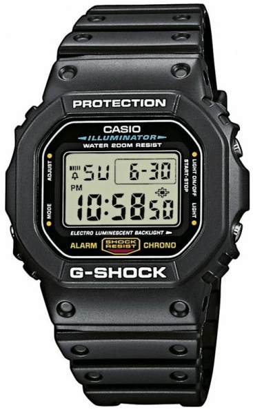 Casio G-shock G-Classic DW-5600E-1V casio ft 201w 1v