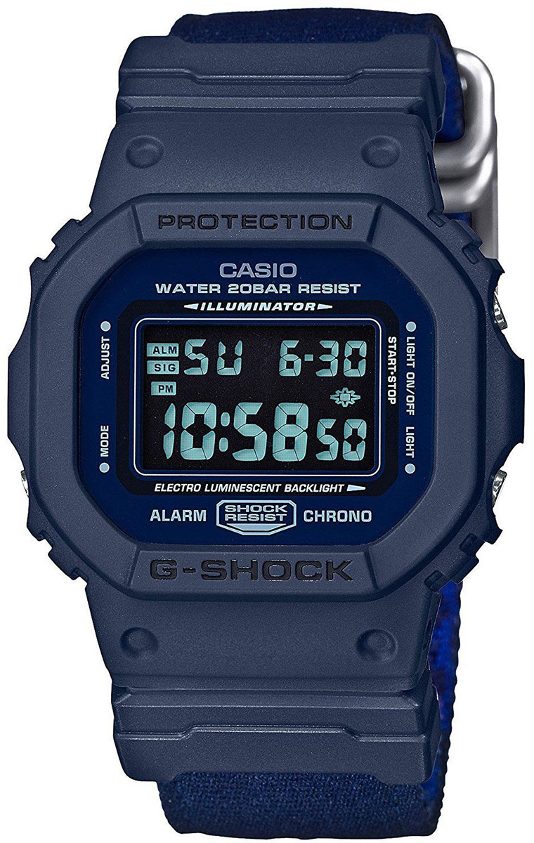 Casio G-shock DW-5600LU-2E casio часы casio dw 5600m 3e коллекция g shock