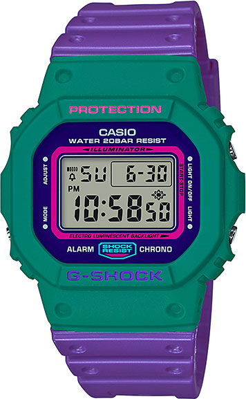 Casio G-shock DW-5600TB-6E casio часы casio dw 5600m 3e коллекция g shock