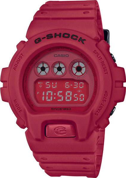 Casio G-shock Red Out DW-6935C-4E casio часы casio dw 5600m 3e коллекция g shock