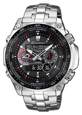 Casio Edifice ECW-M300EDB-1A английский за 30 минут