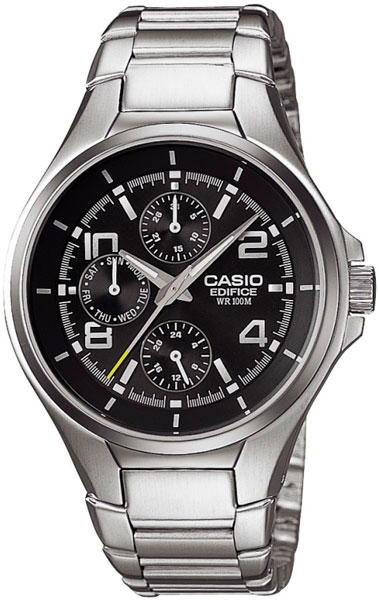Casio Edifice EF-316D-1A strappy back american flag tank top