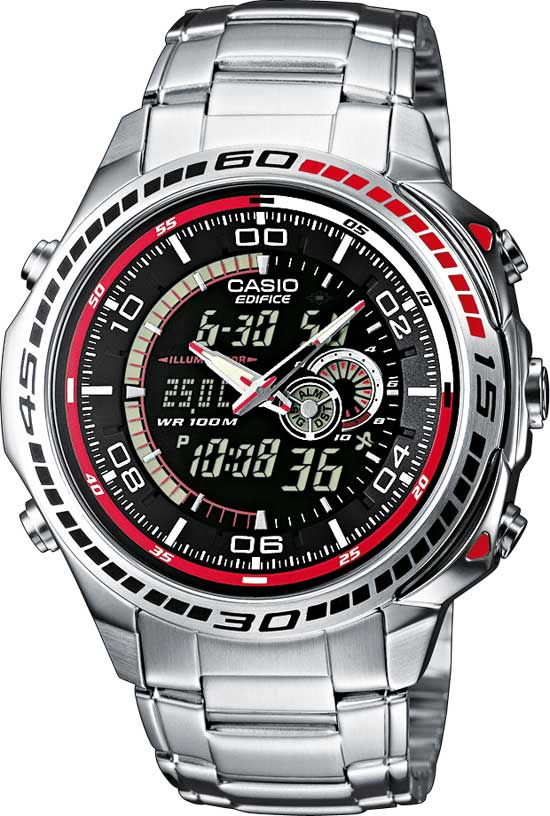 Casio Edifice EFA-121D-1A casio wave ceptor wv 200de 1a