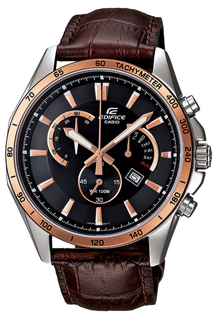 Casio Edifice EFR-510L-5A мужские часы casio efr 531l 5a