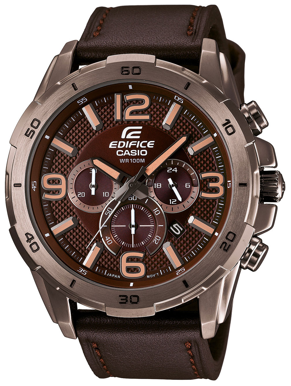 Casio Edifice EFR-538L-5A new luxury brand lige automatic mechanical watch men fashion gold full steel sport waterproof business watches relogio masculino