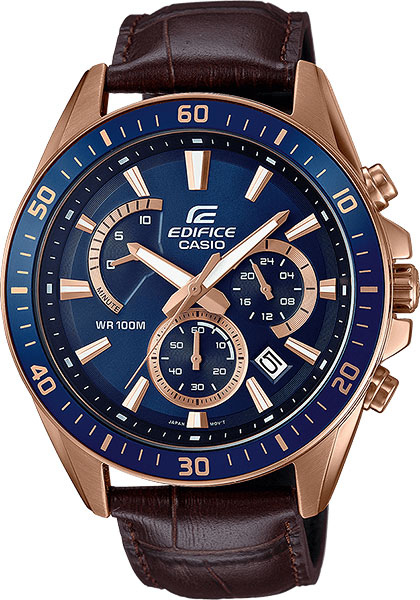 Casio Edifice EFR-552GL-2A casio часы casio efr 539rb 2a коллекция edifice infiniti red bull racing