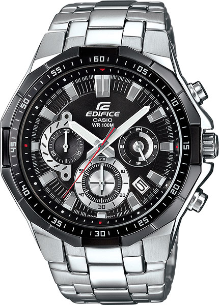 Casio Edifice EFR-554D-1A casio часы casio efr 554l 2a коллекция edifice